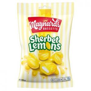 Maynards Bassetts Sherbet Lemons 192g
