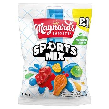 Maynards Bassetts Sports Mix 165g