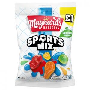 Maynards Bassetts Sports Mix 165g