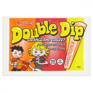 Swizzels Matlow Double Dip Orange & Cherry 19g
