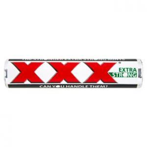 Trebor XXX Extra Strong Mints 40.5g