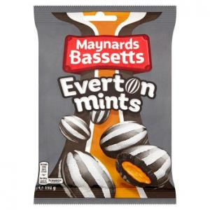 Maynards Bassetts Everton Mints 192g