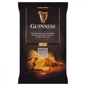 Burts Guinness Thick Cut Crisps 150g