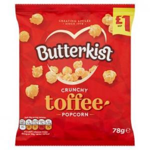 Butterkist Crunchy Toffee Popcorn 78g