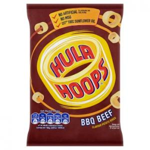 KP Hula Hoops BBQ Beef 34g