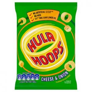 KP Hula Hoops Cheese & Onion 34g