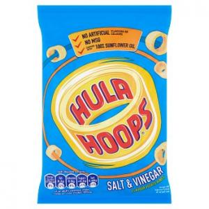 KP Hula Hoops Salt & Vinegar 34g