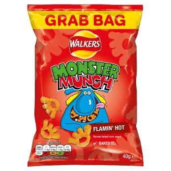 Walkers Monster Munch Flamin Hot 40g