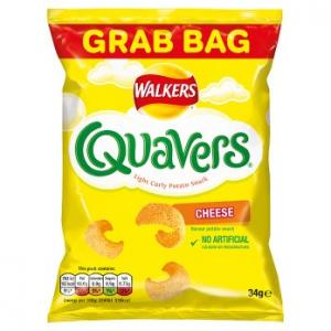 Walkers Quavers Cheese 34g
