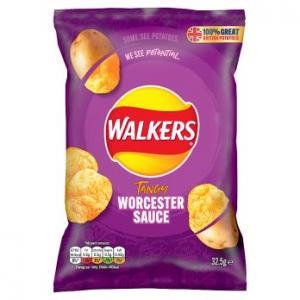 Walkers Worcester Sauce Crisps 32.5g