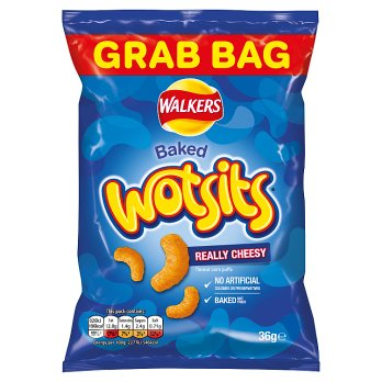 Walkers Wotsits Really Cheesy 36g