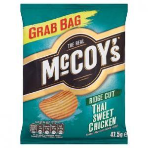 McCoys Thai Sweet Chicken Ridge Cut 47.5g