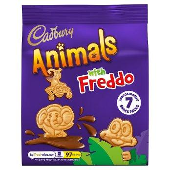 Cadbury Animals Mini Biscuits 7pk
