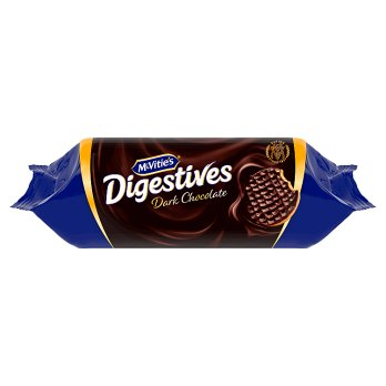 McVities Digestives Dark Chocolate 266g