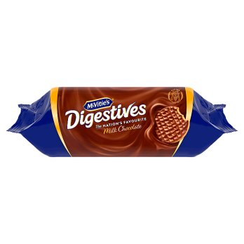 McVities Digestives Milk Chocolate 266g