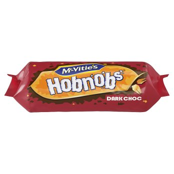 McVities Hobnobs Dark Choc 262g