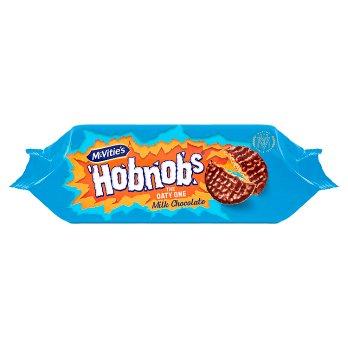 McVities Hobnobs Milk Choc 262g