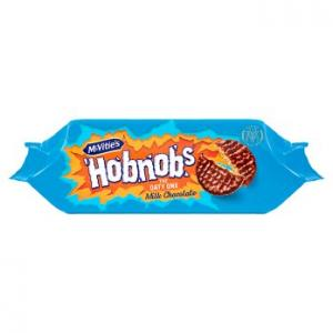 McVities Hobnobs Milk Choc 262g