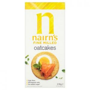 Nairns Fine Milled Oatcakes 218g