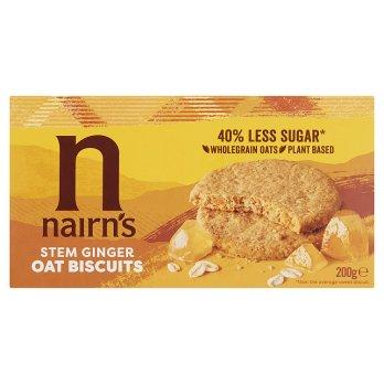 Nairns Stem Ginger Oat Biscuits 200g