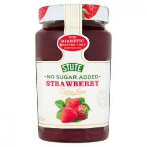 Stute No Sugar Added Strawberry 430g