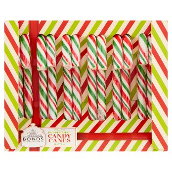Bonds Of London Candy Canes Peppermint 144g