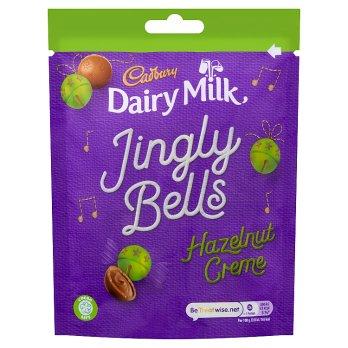 Cadbury Jingly Bells Hazelnut Creme 82g