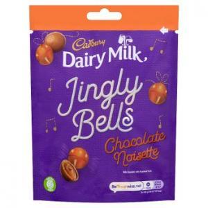 Cadbury Jingly Bells Chocolate Noisette 82g