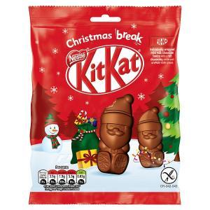 Nestle Kit Kat Santa Sharing Bag 66g