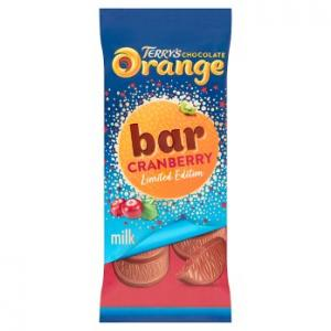 Terrys Chocolate Orange & Cranberry 90g