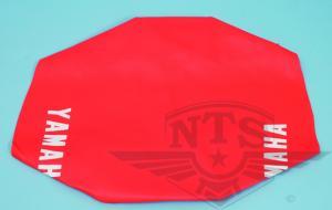 Sadelklädsel Yamaha DT röd