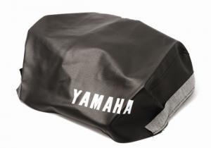Sadelklädsel Yamaha DT svart