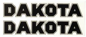 Tankdekaler Puch Dakota 71-76 1 par