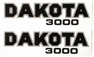 Sidokåpsdekaler Puch Dakota 3000 1 par