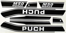 Dekalsats Puch M50 Monza