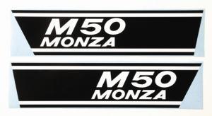 Sidokåpsdekaler Puch M50 Monza 1 par