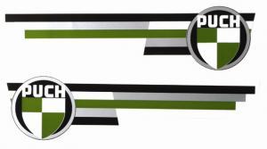 Tankdekaler Puch Dakota/Dixie -68 1 par