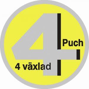 Dekal 4väx Puch