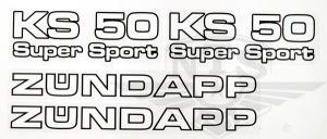 Dekalsats Zundapp KS50 81-83