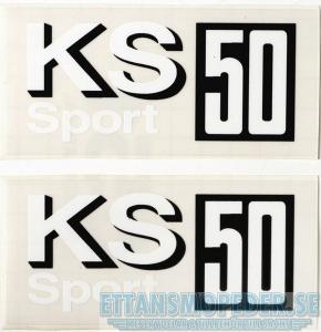 Kåpdekaler Zundapp KS50 Sport 1 par