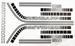 Dekalsats Zundapp CS50