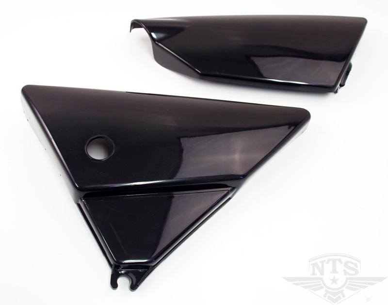 Sidokåpor Yamaha DT svarta 1 par
