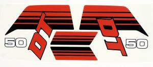 Dekalsats Yamaha DT50MX Vit 83-85