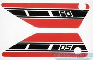 Kåpdekalsats Yamaha FS1 1977