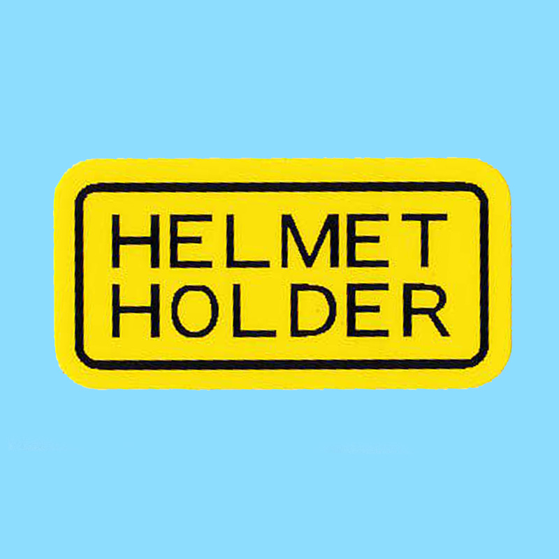 Dekal Helmet Holder Honda MT/MB