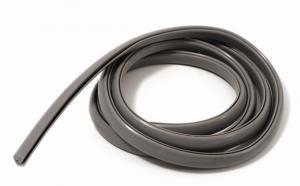 Gummilist grå för skyddsplåt 1.6m Puch mfl