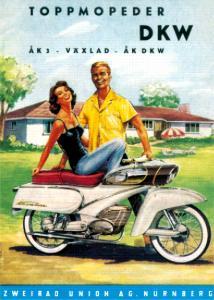 Poster DKW 50x70cm