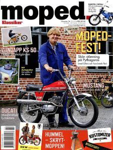 Tidning Klassiker moped nr.3 2016
