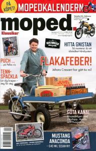 Tidning klassiker moped nr.4 2016