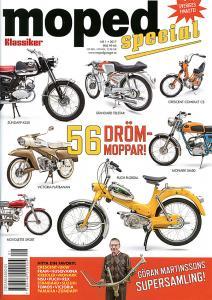 Tidning klassiker moped nr.1 2017